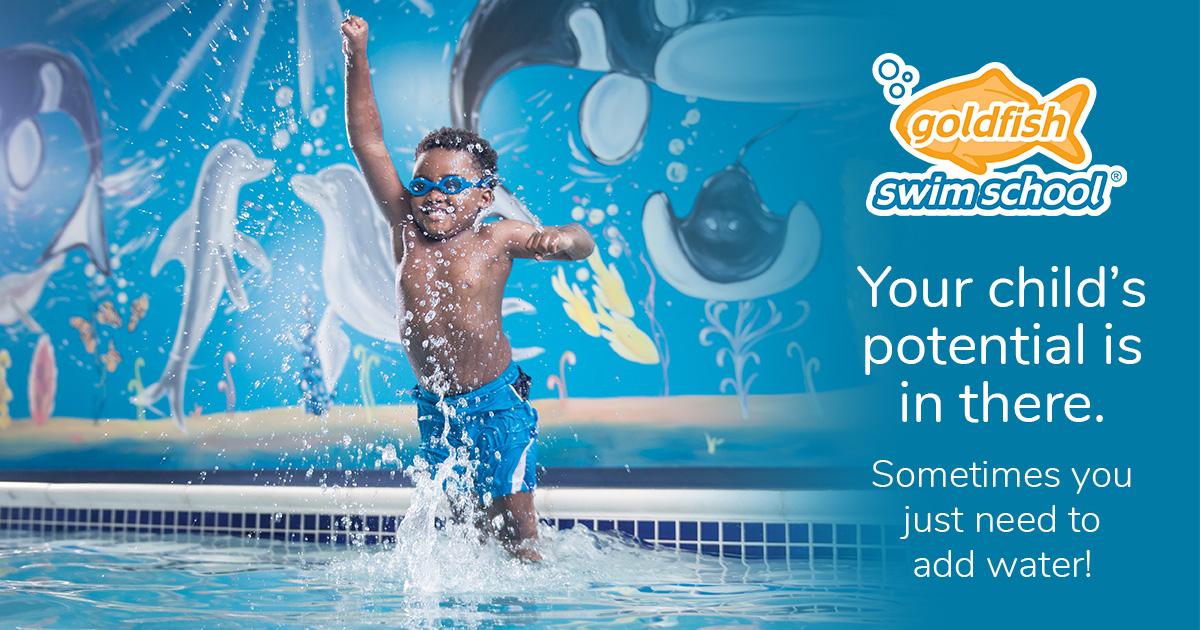 Kids Swimming Lessons Goldfish Swim School