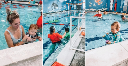 Thumbnail for 3 Moms Share Why They Enrolled Their Mini Me in Swim Lessons Early On
