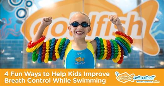 Thumbnail for 4 Fun Ways to Help Kids Improve Breath Control While Swimming