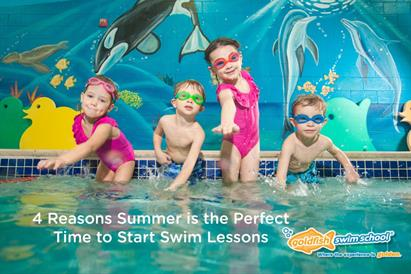 4 Reasons Why Summer is the Perfect Time to Start Swim Lessons