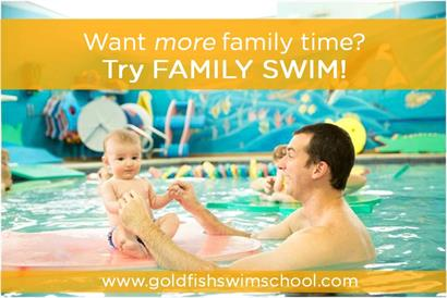 Is More Family Time your New Year's Resolution? Try Family Swim!
