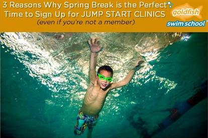 3 Reasons Why Spring Break is the perfect time to sign up for a Jump Start Clinic (even if you're not a member)