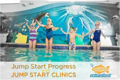 Thumbnail for Jumpstart Your Kids' Swimming Skills with Jump Start Clinics