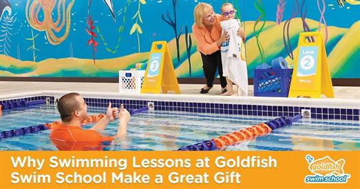 Thumbnail for Why Swimming Lessons at Goldfish Swim School Make a Great Gift