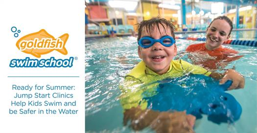 Thumbnail for Ready for Summer: Jump Start Clinics Help Kids Swim and be Safer in the Water