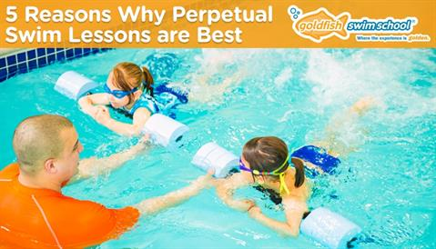 5 Reasons Why Perpetual Swim Lessons are Best