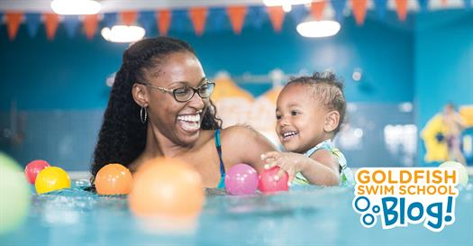 Thumbnail for Baby Bonding 101: Your Baby Benefits from Swimming Lessons…on a Deeper Level