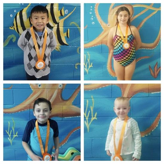 December Star Students, Aden, Ayla, Jacob and Mckenna