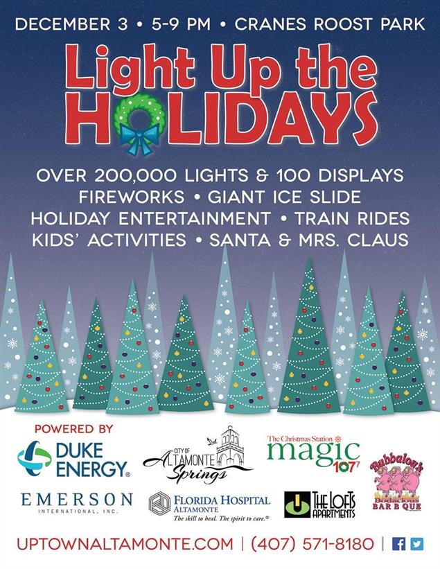 Light Up the Holidays Flier