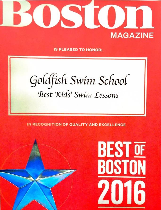 Boston Magazine: Goldfish Swim School