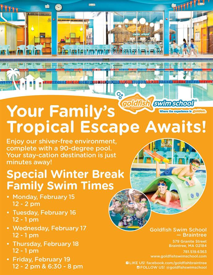 Your Family's Tropical Escape Awaits Flyer