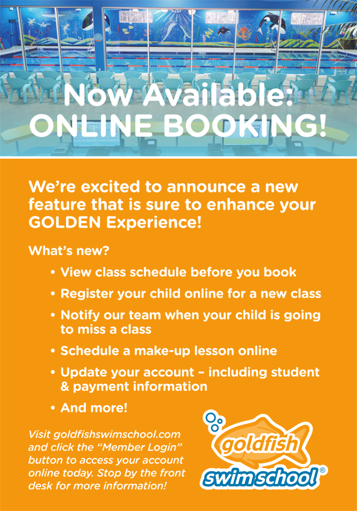 Online Booking Available Now!