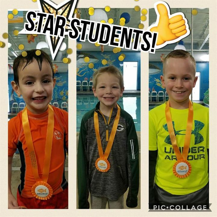 February Star Students Isaac, Vincent and Brady