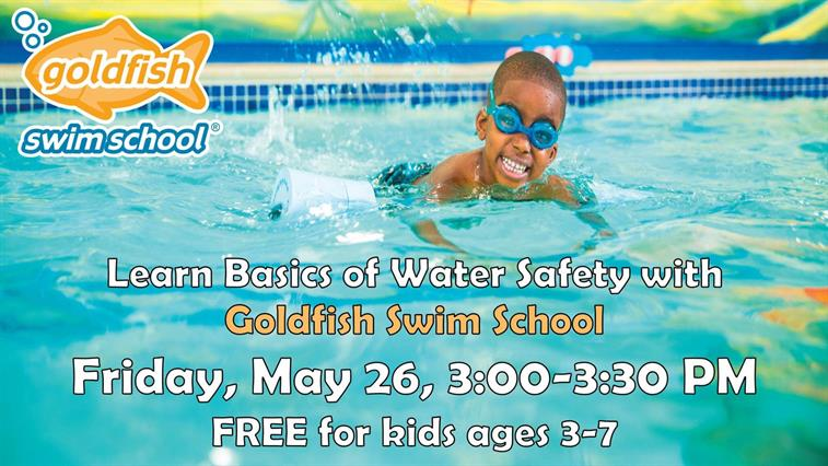 Learn Basics of Water Safety with Goldfish Swim School