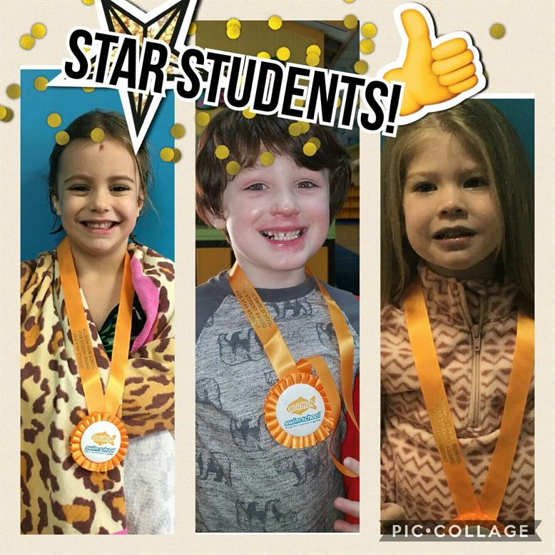January Star Students Adele, Grady, and Aria