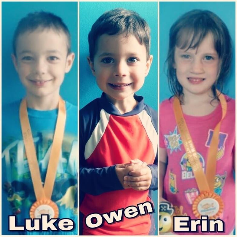 September Star Students Luke, Owen and Erin