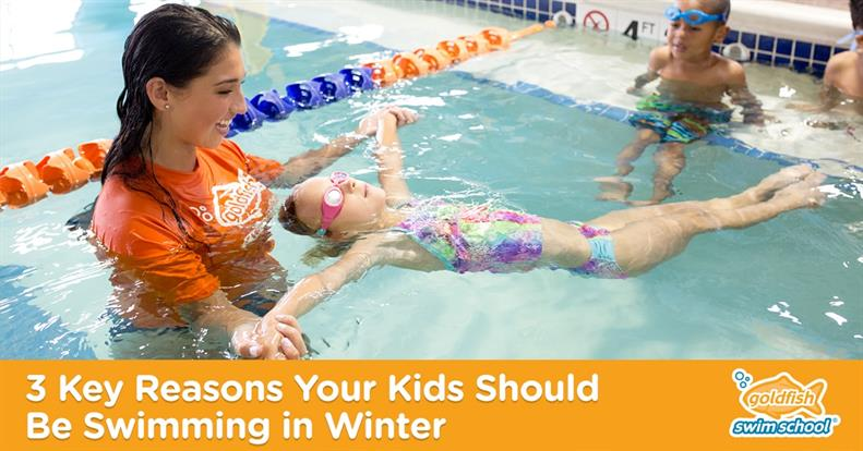 3 Key Reasons Your Kids Should Be Swimming in Winter