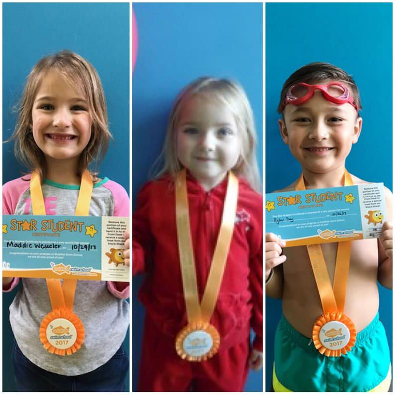 November Star Students Rylan, Leah, and Maddie