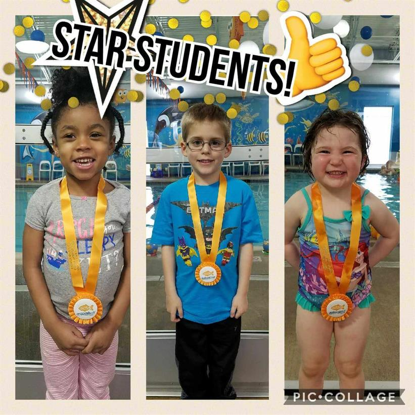 April Star Students Phoenix, Joshua, Margaret