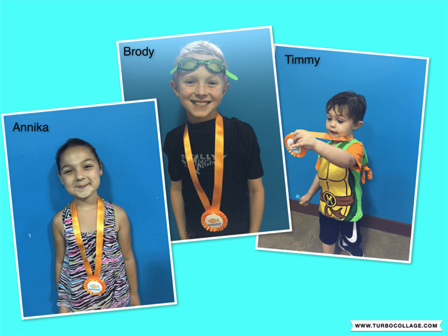 September Star Students Annika, Brody and Timmy