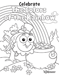 March coloring sheet