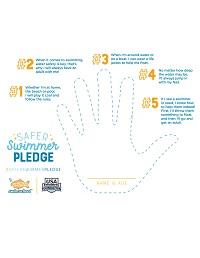 Safer Swimmer Pledge