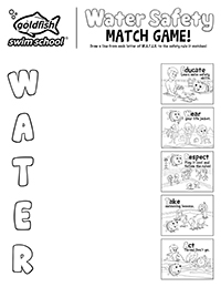 Water Safety Match Game