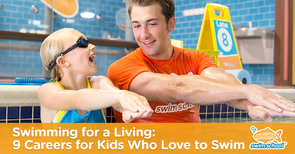 9 careers for kids who love to swim