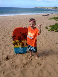 Photo of Goldfish Birmingham Swimmer R.J. in Maui