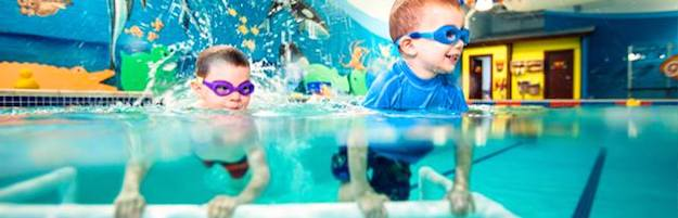 Photo of Goldfish Swim School boys in the pool