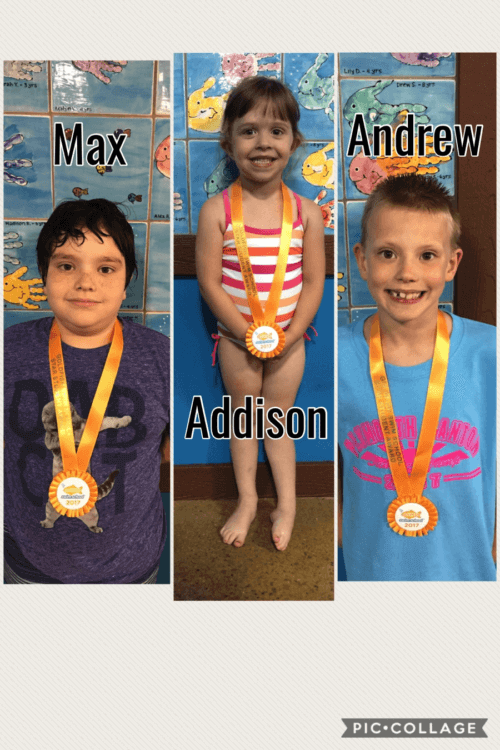 July Star Students Max, Addison, and Andrew
