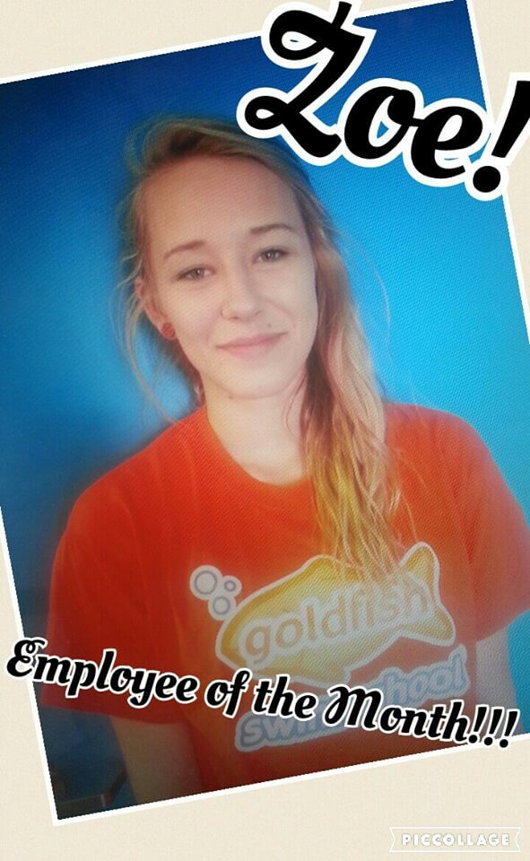 May Employee of the Month, Zoe