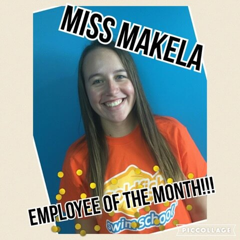 August Employee of the Month, Makela