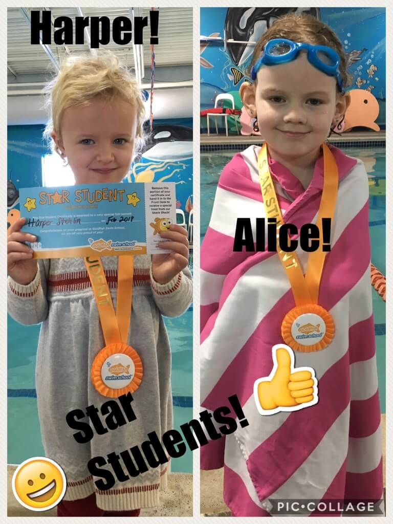 February Star Students Harper and Alice