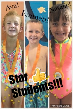 August Star Students Ava, Emmett, Natalie