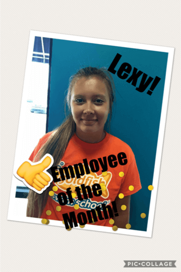 July Employee of the Month, Lexy