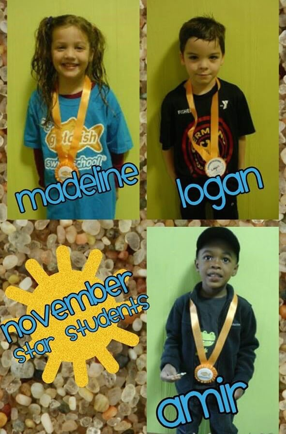 November Star Students Madeline, Logan and Amir