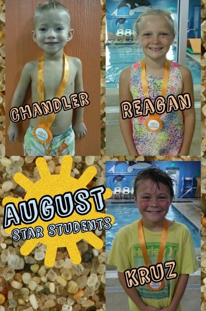 August Star Students Chandler, Reagan and Kruz