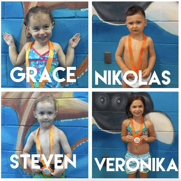August Star Students, Grace, Nikolas, Steven, and Veronika