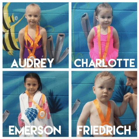 July Star Students, Audrey, Charlotte, Emerson and Friedrich