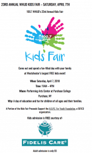 WHUD Kids Fair Brochure